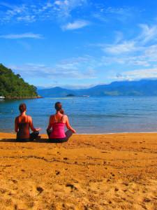 Beach Meditate Yoga Paraty Wellness Tours