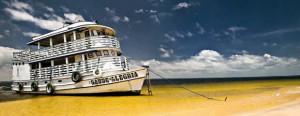 Boat Shore Journey Amazon