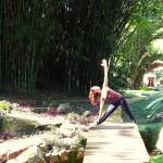 Dani Yoga Teacher Urdhva Virabhadrasana