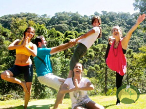 Green Stone Journeys Wellness Tours Brazil Acroyoga Asanas