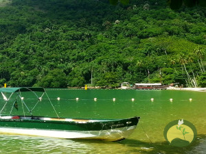 Ilha Grande Relaxing Boat Green Stone Journeys Wellness Tours Brazil
