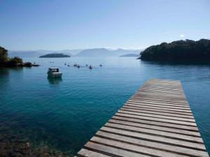 Green Stone Journeys Wellness Tours Brazil Ilha Grande Sea Deck Peaceful