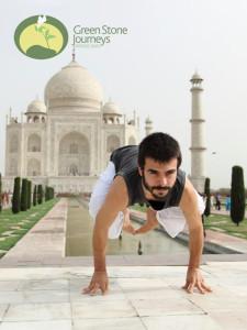 Joao Paulo Pereira Yoga Teacher India Green Stone Journeys Wellness Tours Brazil