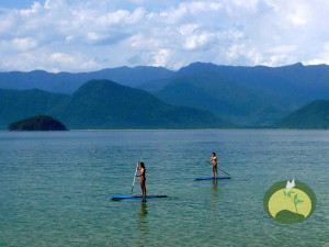 Green Stone journeys Wellness Tours Brazil Paraty Adventure Stand Up Paddle