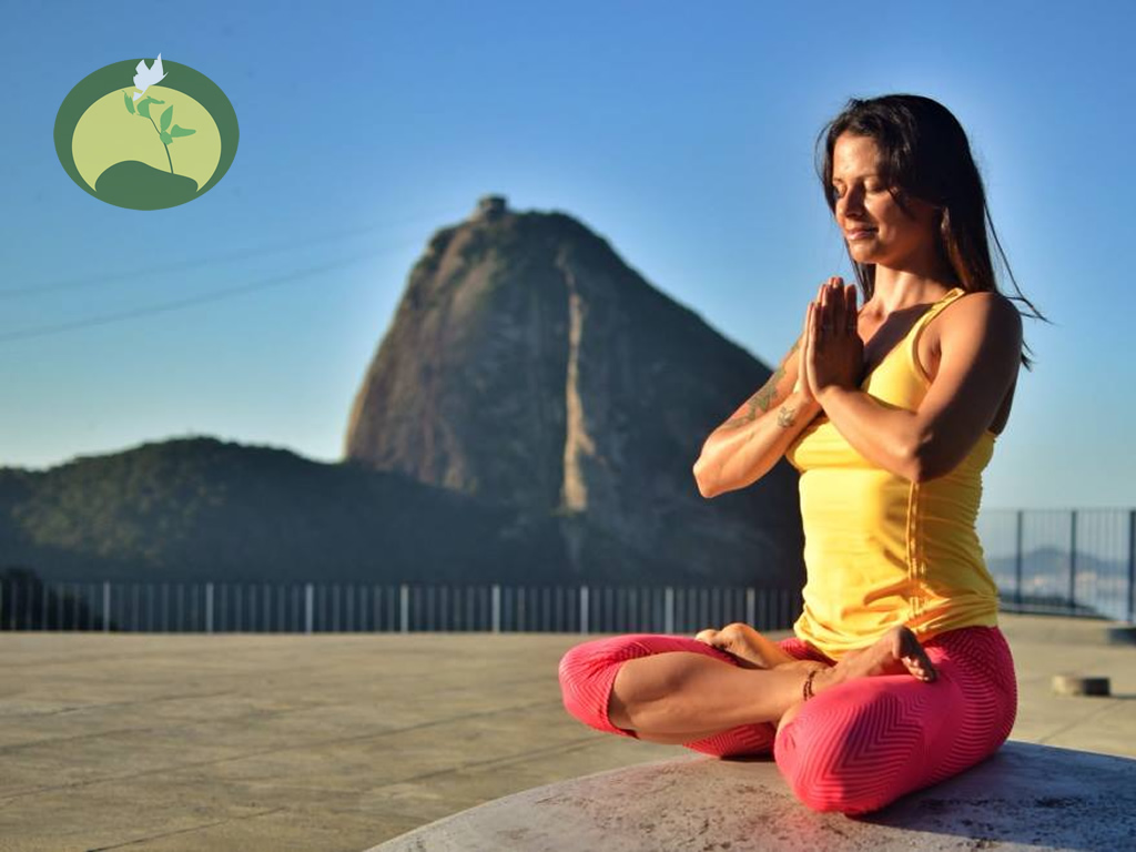 Sá Souza Yoaga Teacher Lotus Asana Green Stone Journeys Wellness Tours Brazil