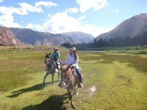 horseback riding Peru